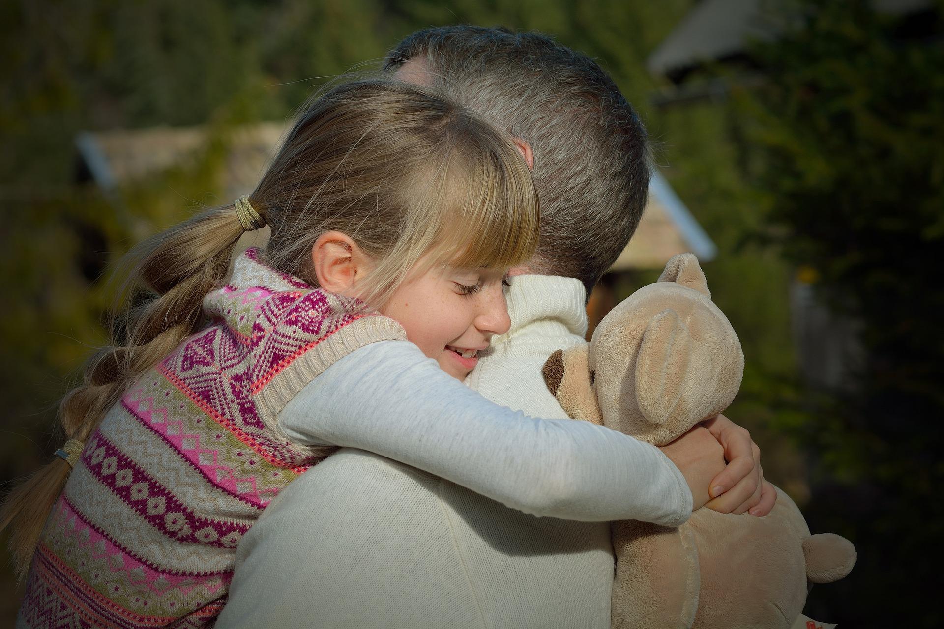 Abrace seu filho mais tempo para filhos