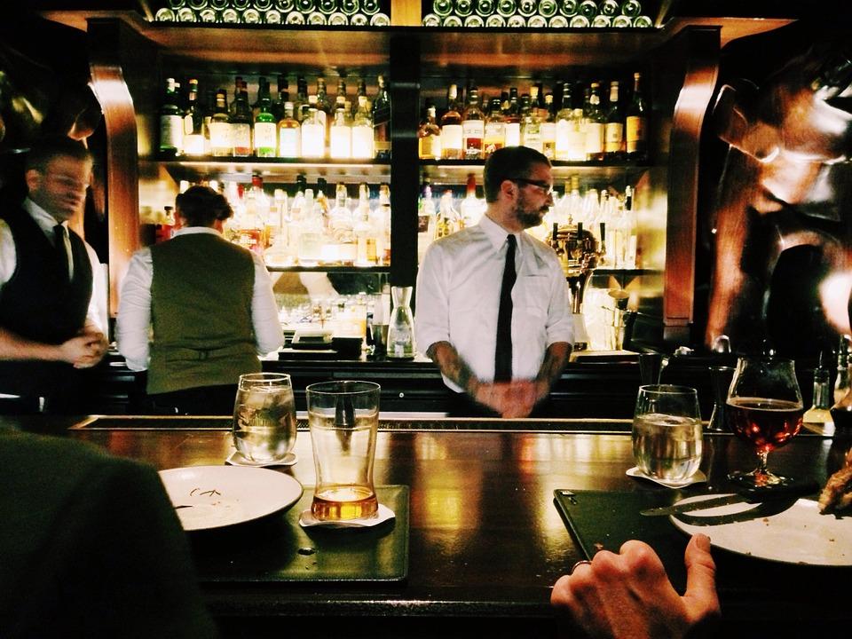 Bar, Pub, Bebidas, Boate, Garçom, Garçons, Vida Noturna