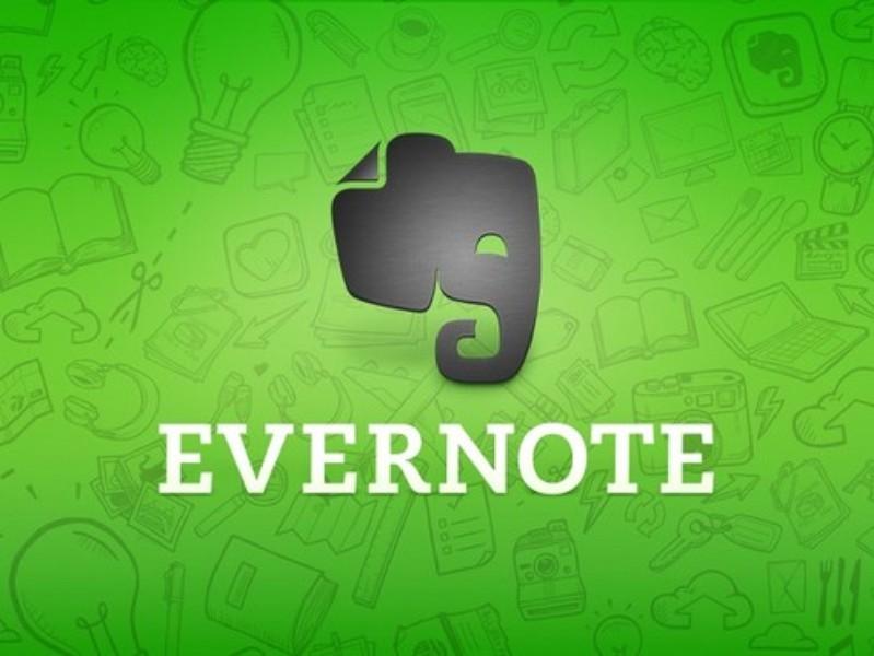 evernote - aplicativos de produtividade