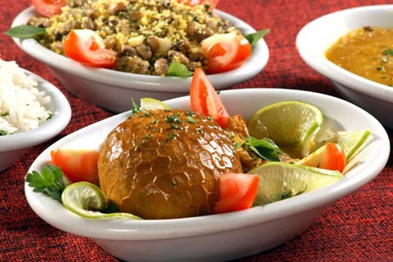 Fora do Brasil, a buchada de bode é uma comida exótica
