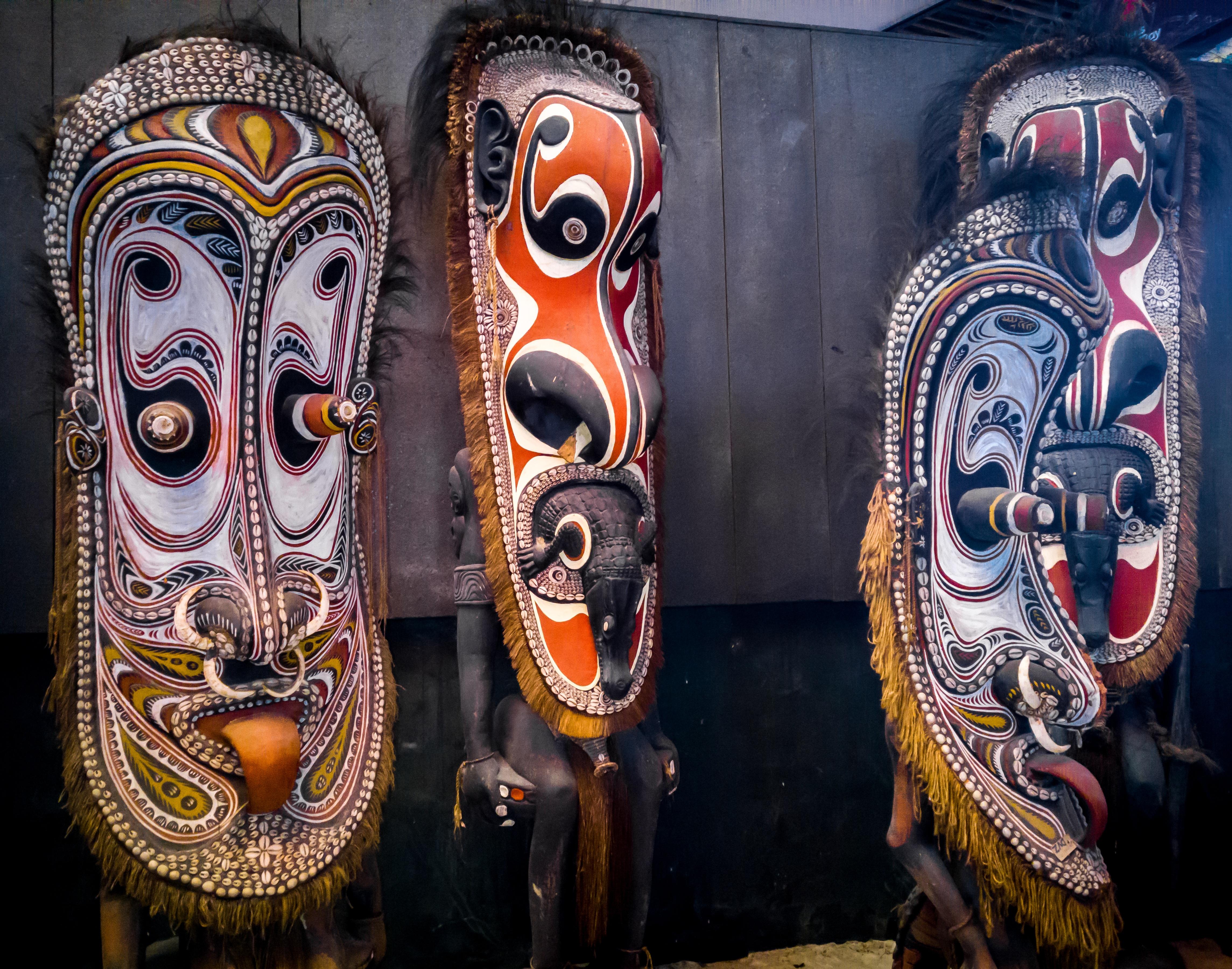 Mercado de Artesanato de Ela Beach, Papua Nova Guiné
