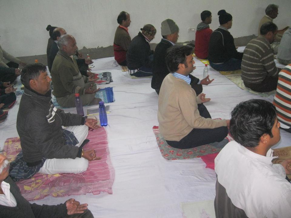 Meditação grupal
