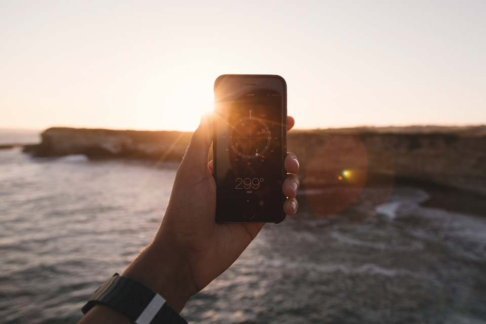 aplicativos de viagem Navegação, Direção