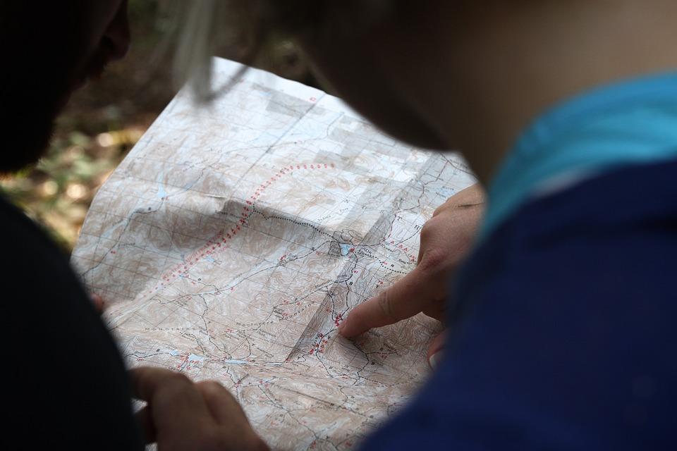 aplicativos de viagem - Localização