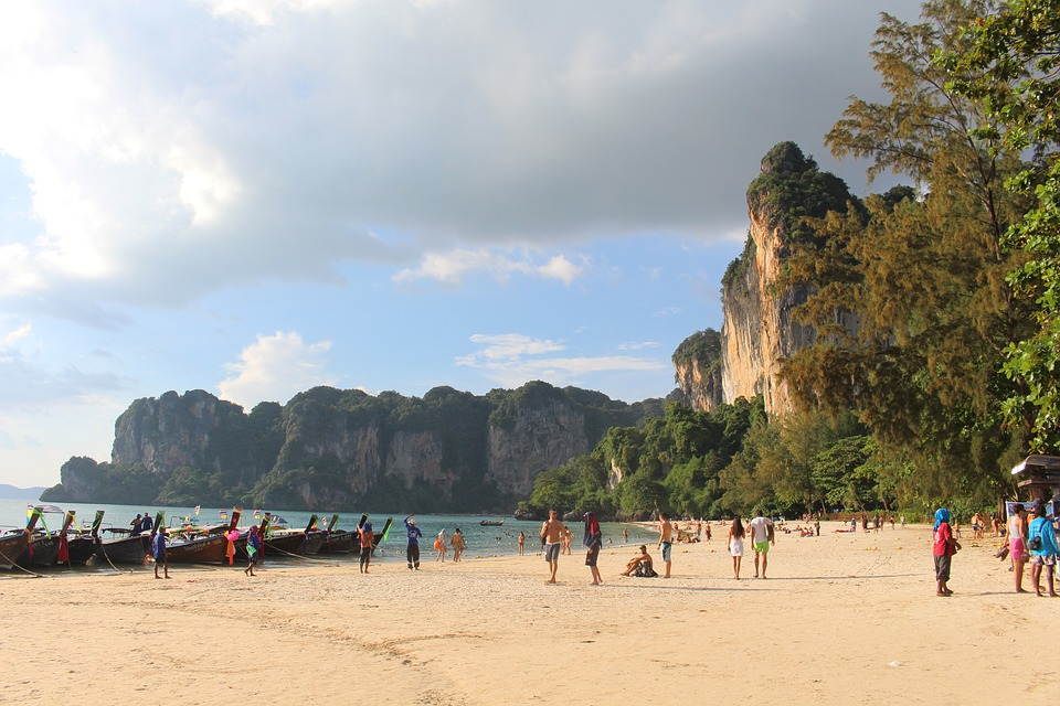 Tailândia - Railay West Beach