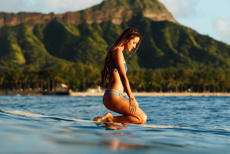 Mainei Kinimaka dá dicas de surf: ele se confunde com alma