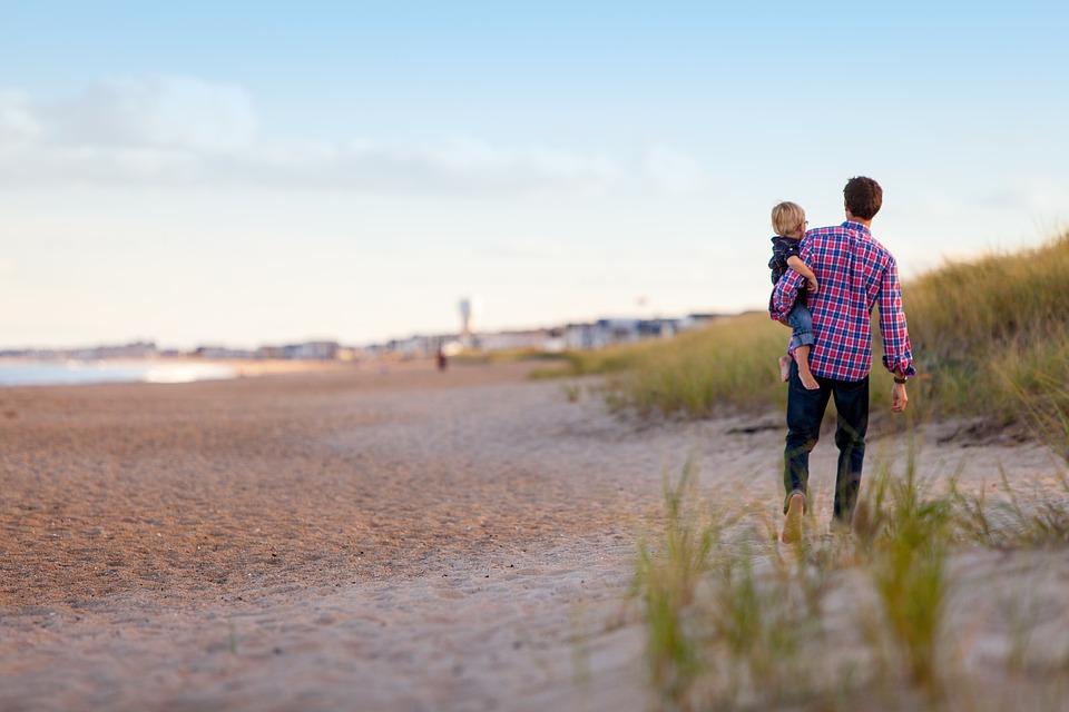 tempo para os filhos - pai e filho