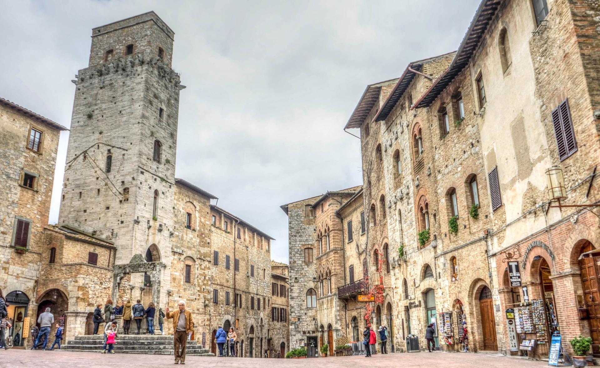 Ruas de San Gimignano