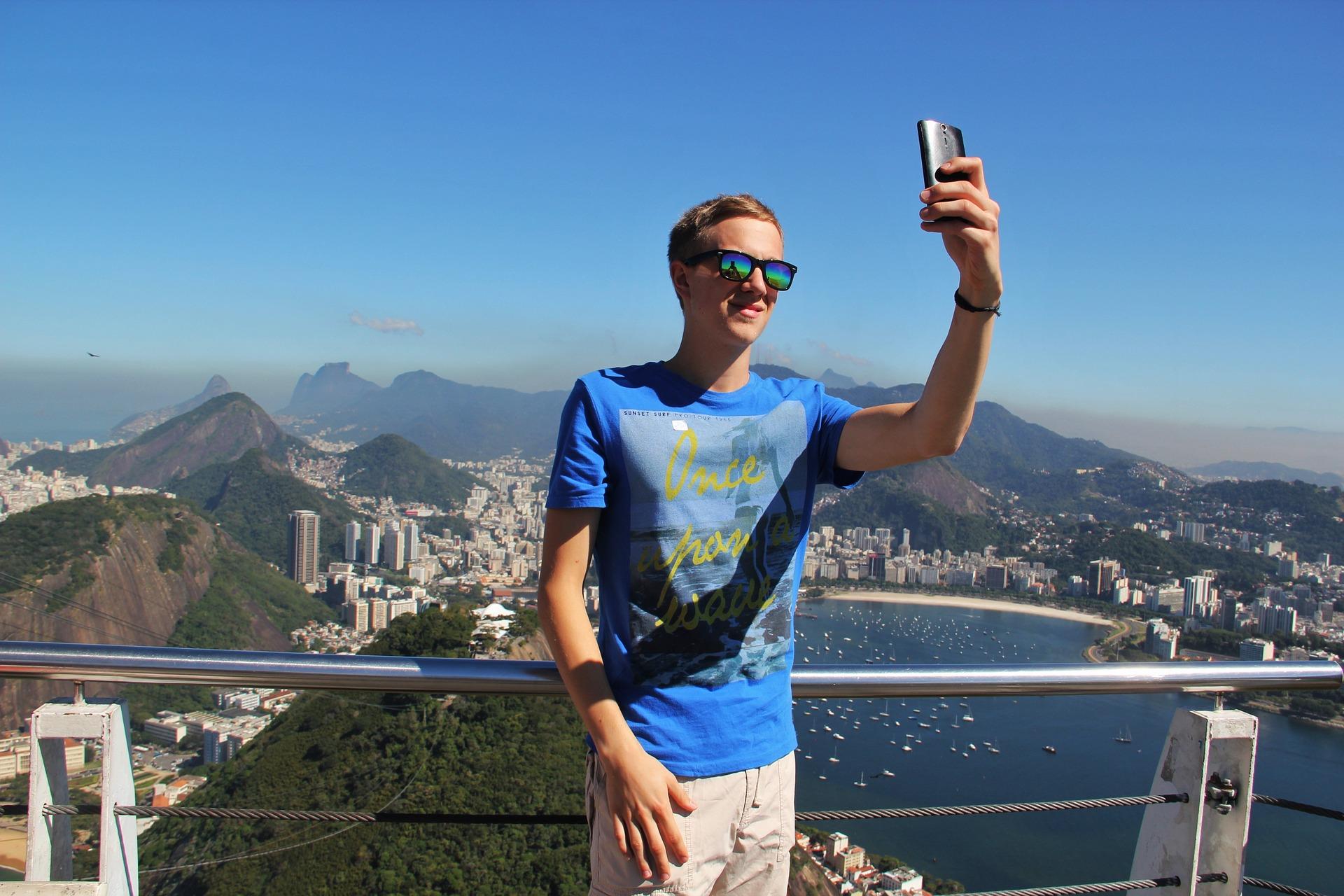 Popular selfie