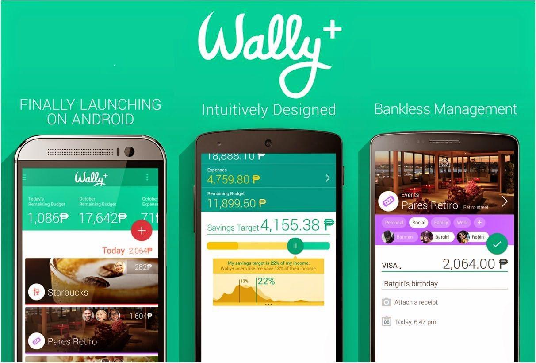 Wally+ - aplicativos de finanças pessoais