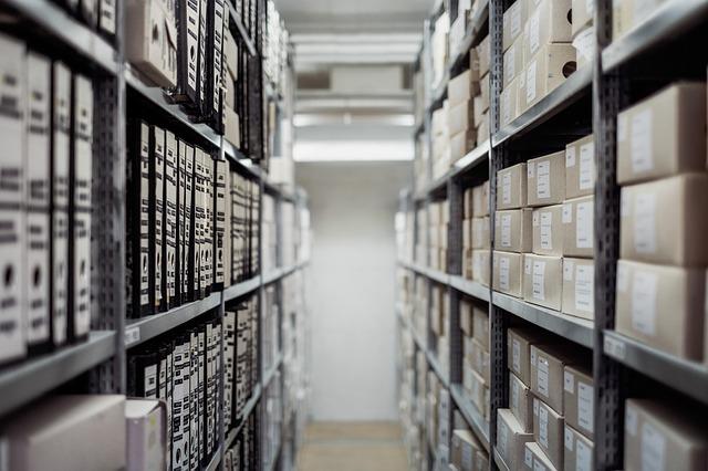 organização pessoal arquivo