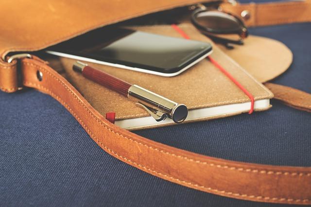 organização pessoal caderno