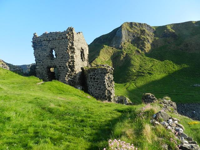 clima na irlanda para viagem castelo