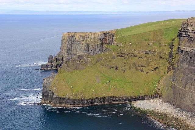 clima na irlanda para viagem cliff of amoher