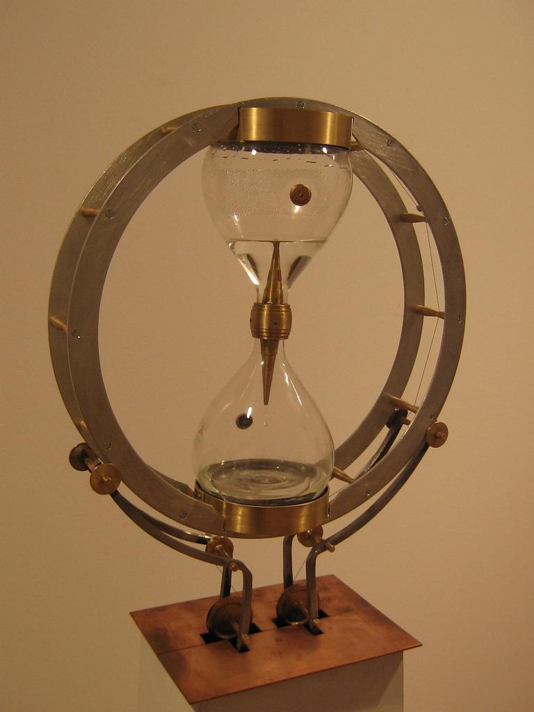 Ampulheta e clepsidra: formas antigas de gestão de tempo?