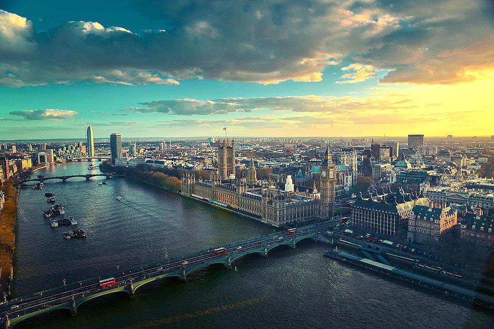 Conhendo Londres, na Inglaterra
