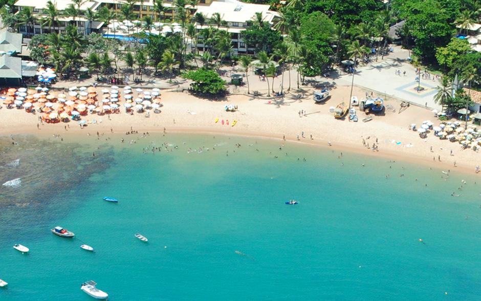 Praia do forte - lugares isolados no brasil