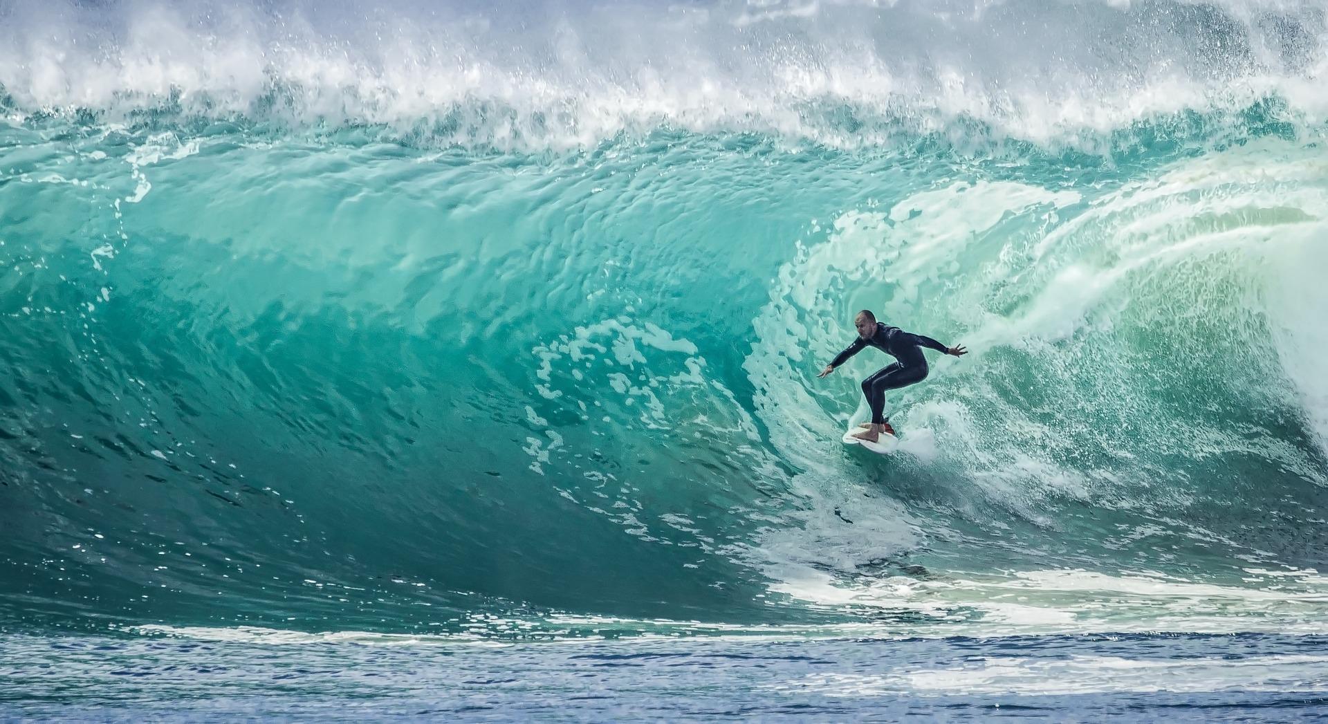 Surf - esportes radicais no Brasil