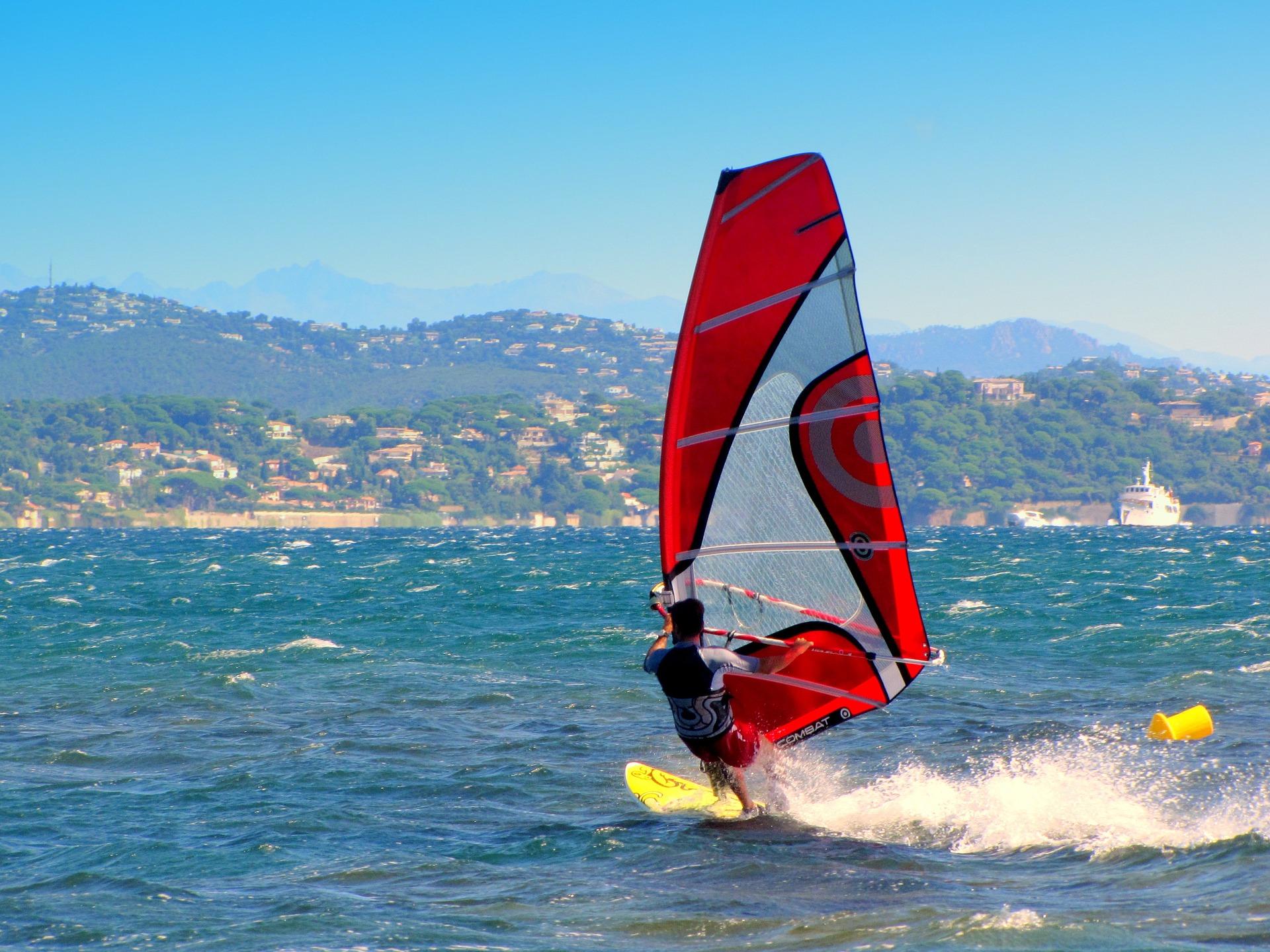 Windsurf - esportes radicais no Brasil