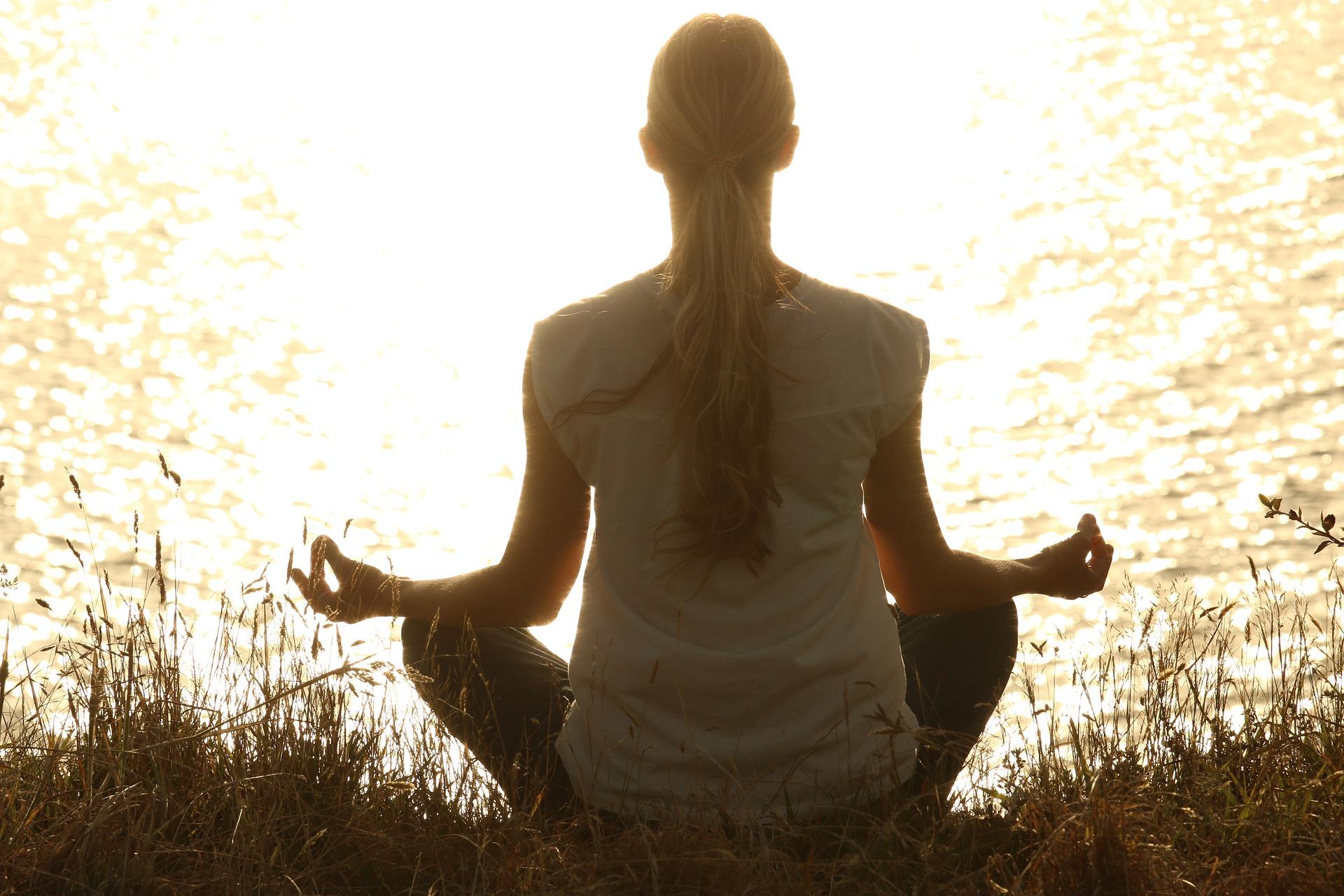 prática de meditação para iniciantes.