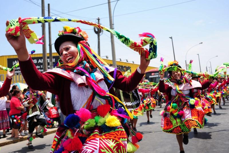 No Peru, o Carnaval é cultural