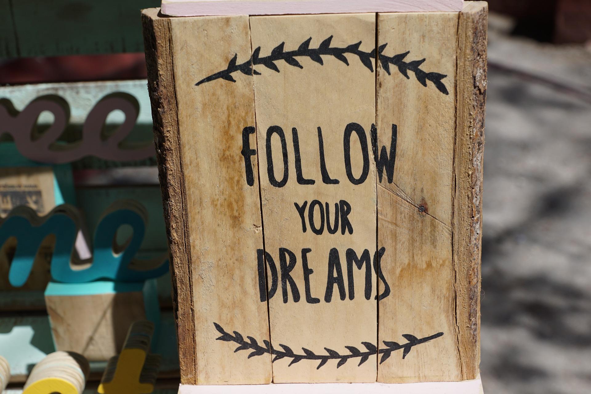 Acreditar nos sonhos
