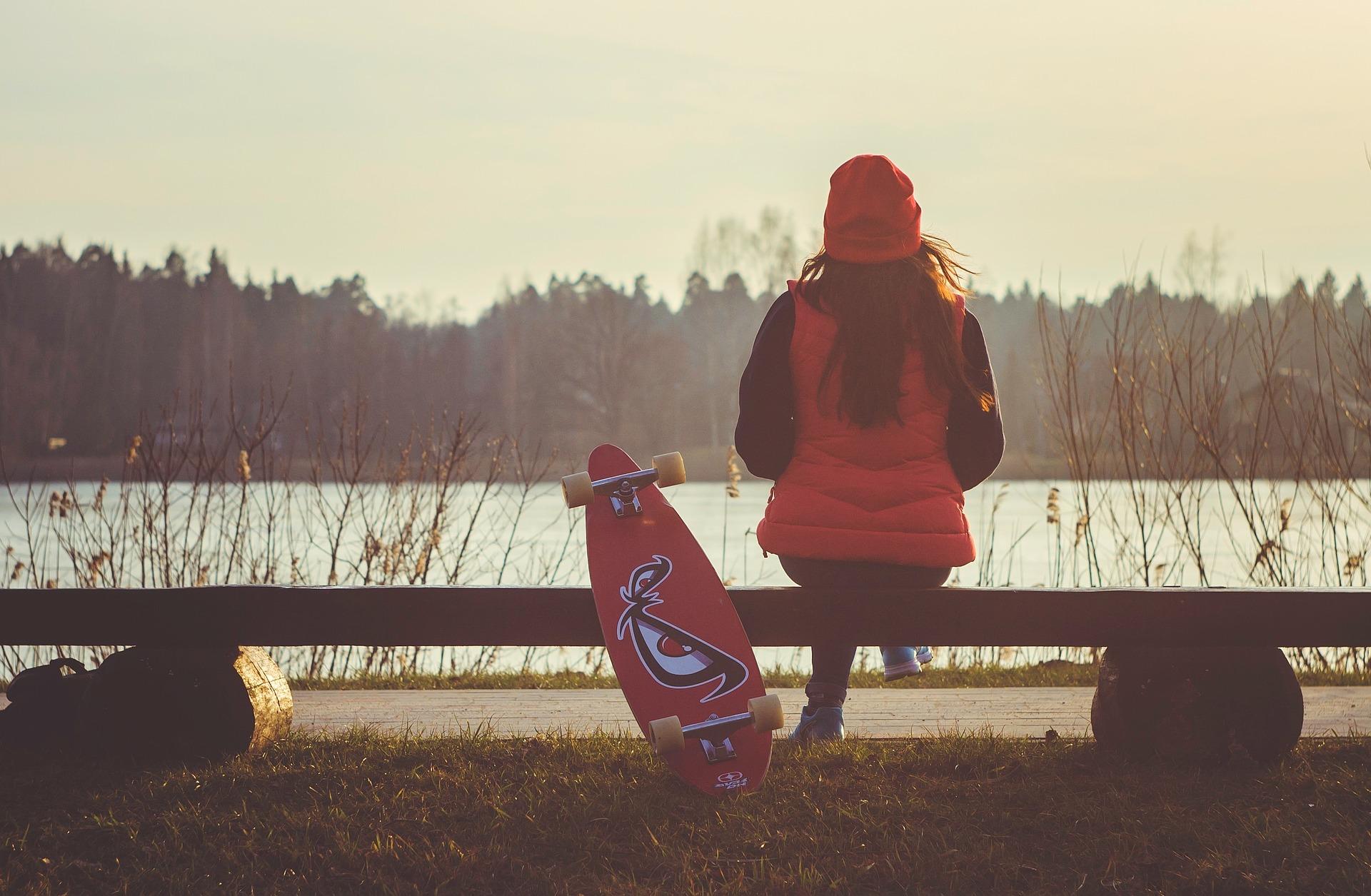 Andar de skate ajuda no autoconhecimento.