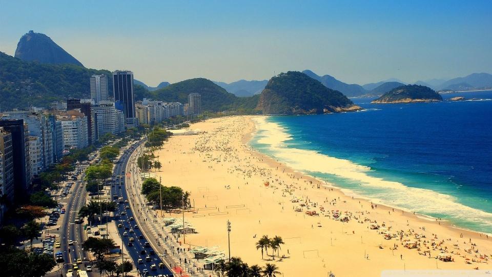 Praia de Copacabana: uma das belas e perigosas do Brasil