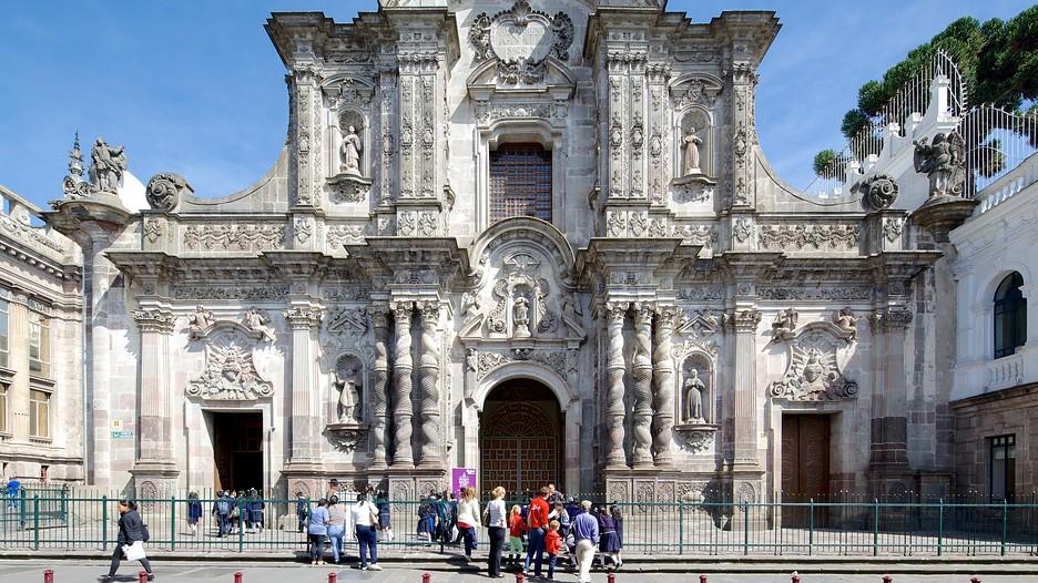 Iglesia de la Compania de Jesus - melhores pontos turísticos do Equador