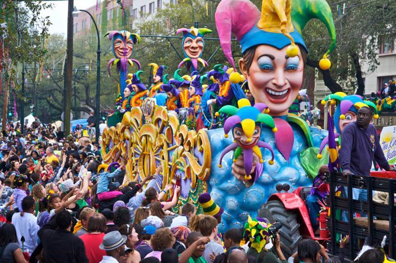 Resultado de imagem para festival de Mardi Gras