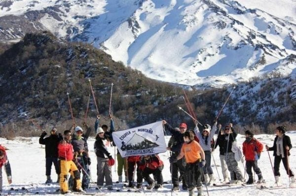 lugares para esquiar perto do Brasil