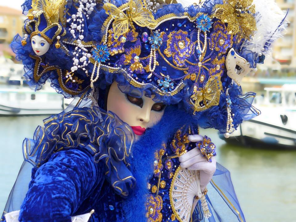 Máscara De Veneza, Carnaval De Veneza, Máscaras