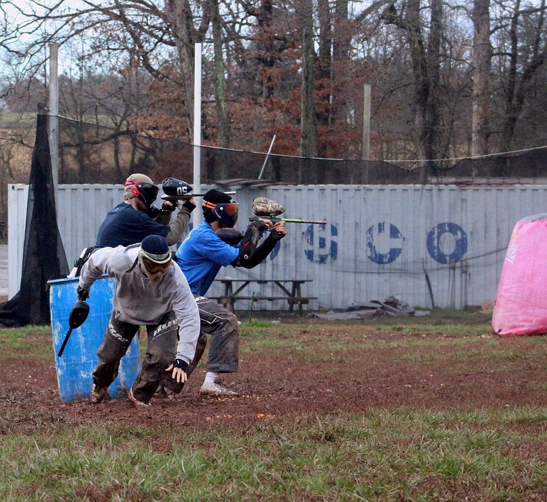 paintball - campo de partida