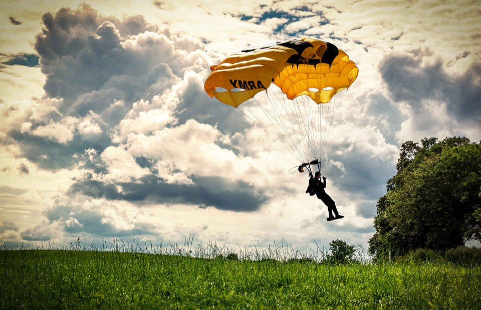Paraquedismo em 2017 - lugares para saltar de paraquedas no mundo em 2017