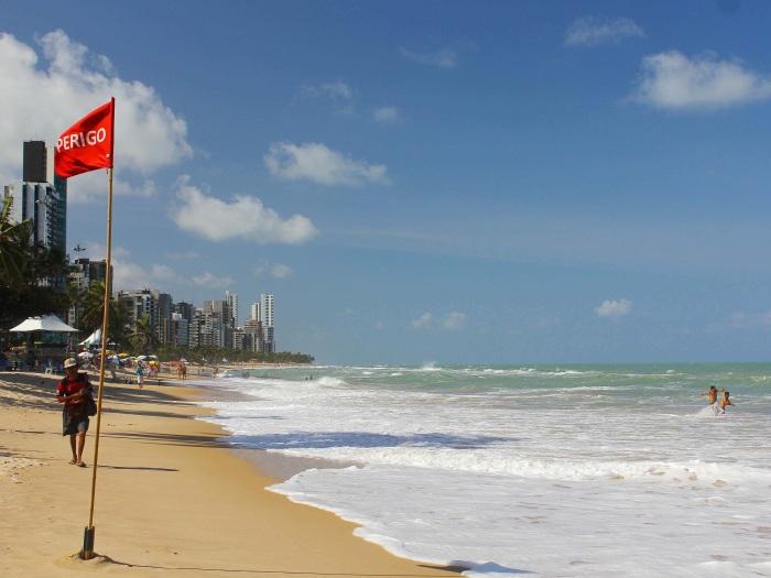 Boa Viagem é uma das praias mais perigosas do Brasil
