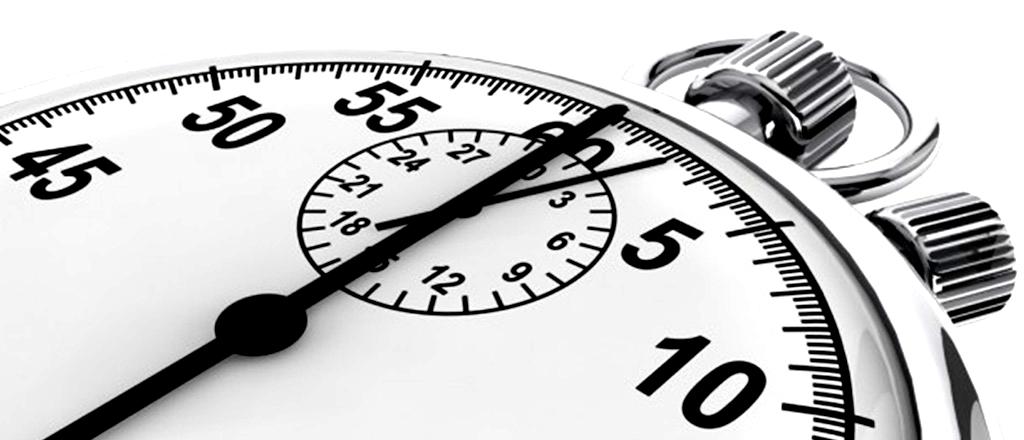 Sem tempo = lei de parkinson