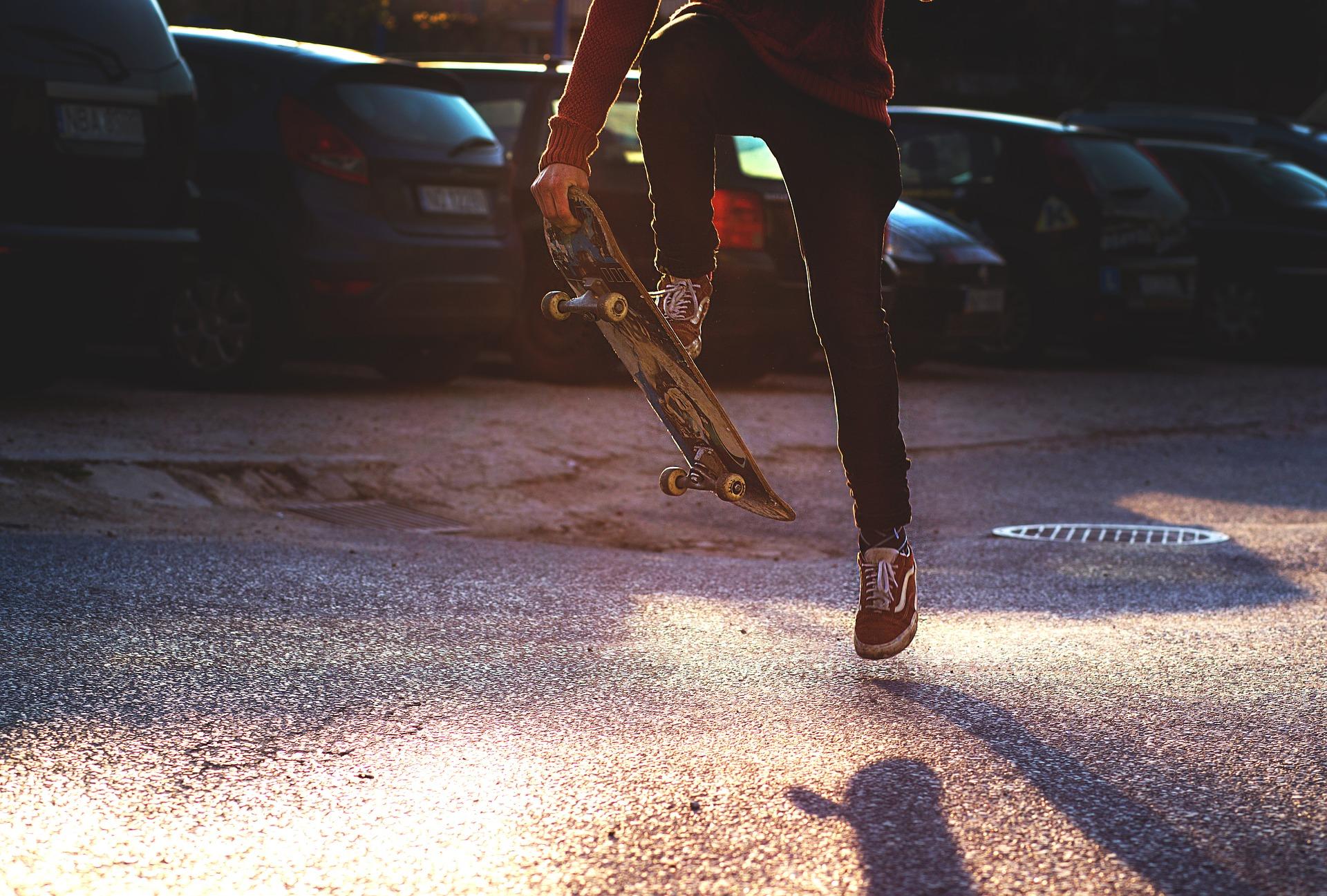 Acrobacias de skate