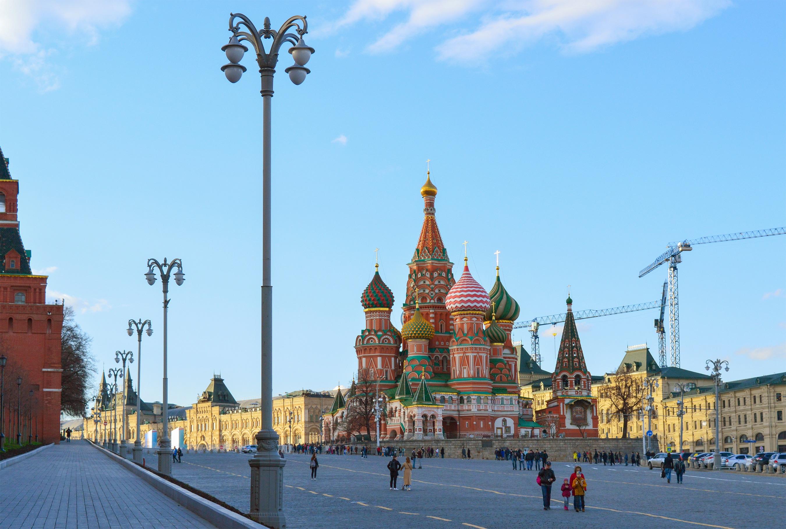 lugares incríveis para conhecer na Rússia