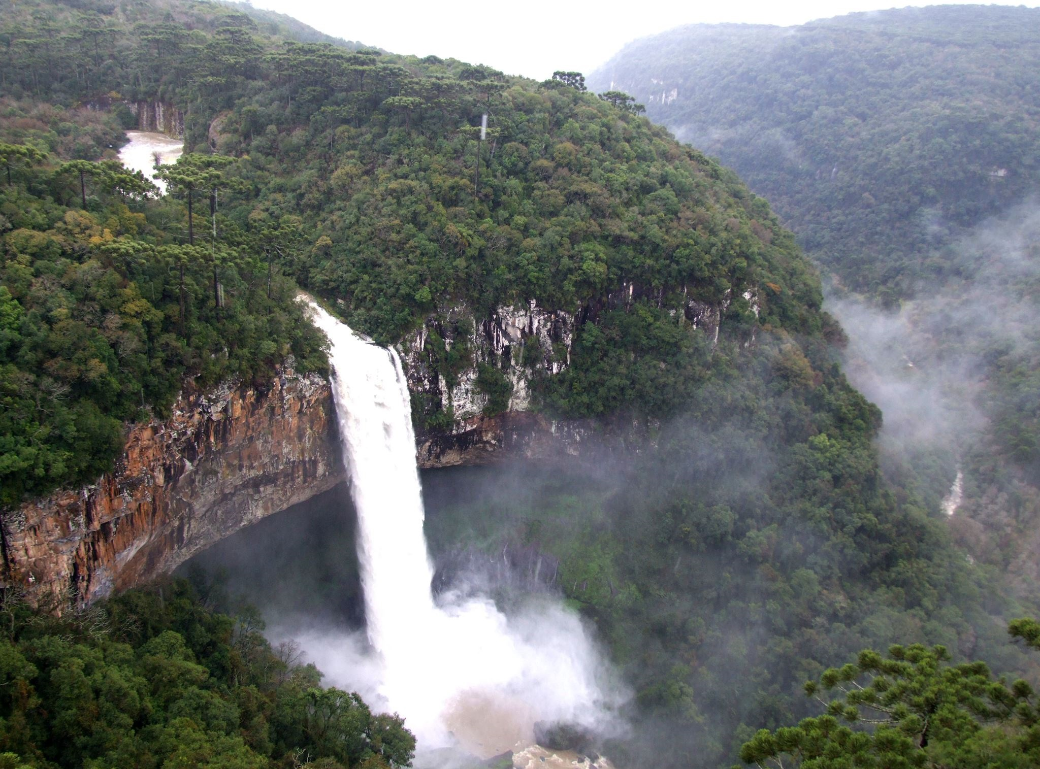 Cachoeira Caracol Serra Gaúcha