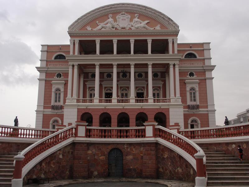 Manaus atrações turísticas históricas