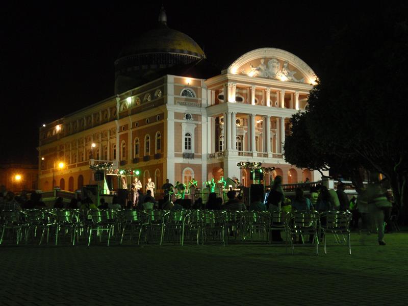 Palácio em Manaus melhores destinos da Amazônia