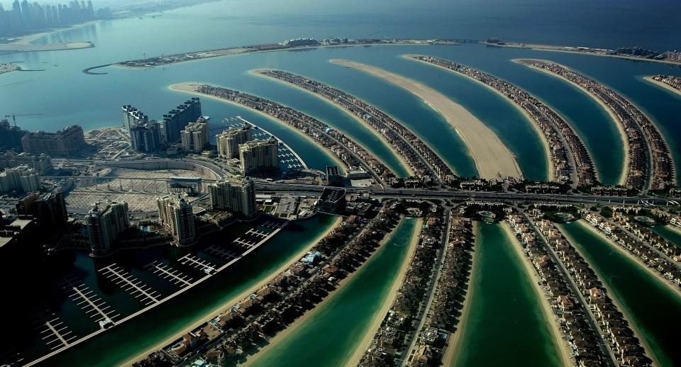 Palm Jumeirah pontos de interesse em Dubai