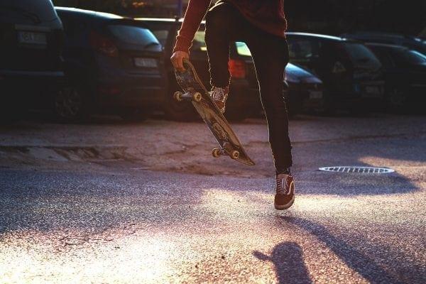 aprender a andar de skate
