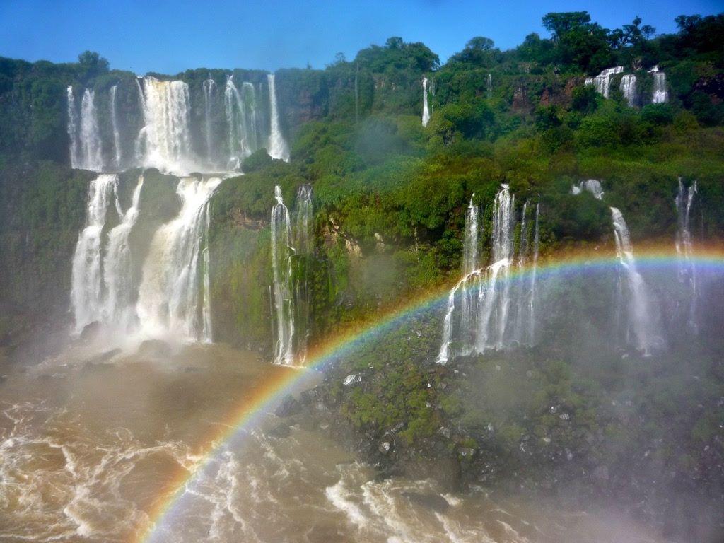 Cataratas do Iguaçu conhecidas cachoeiras do Brasil
