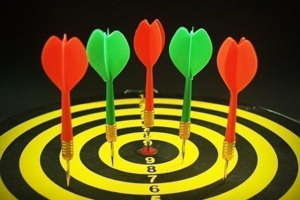 definir metas e objetivos