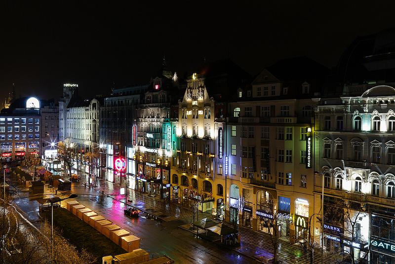 principais pontos de interesse em Praga