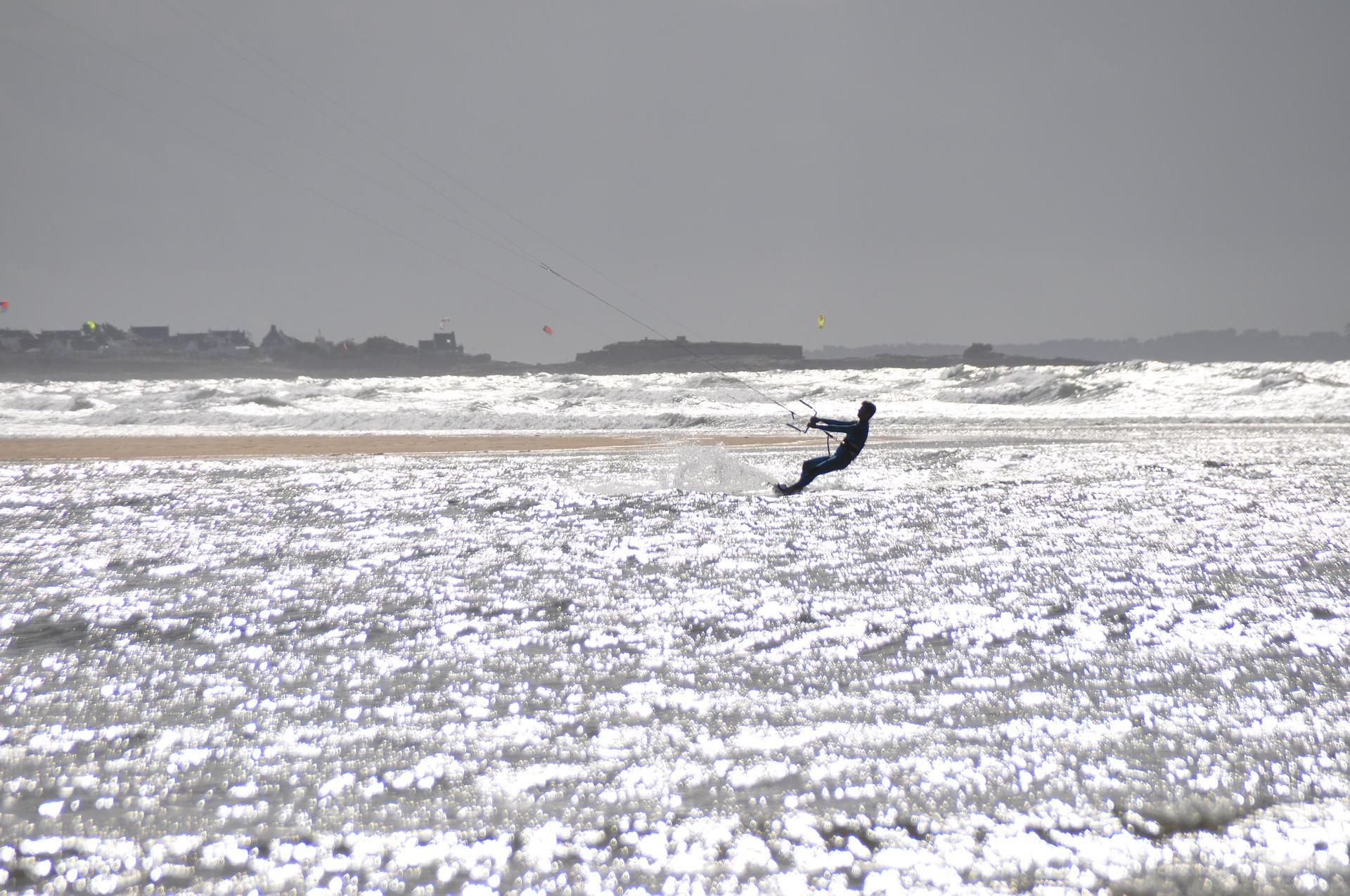 kitesurf - sucesso nesse esporte.
