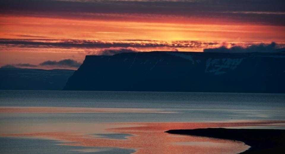 Islândia lugar pacífico encantador gelado