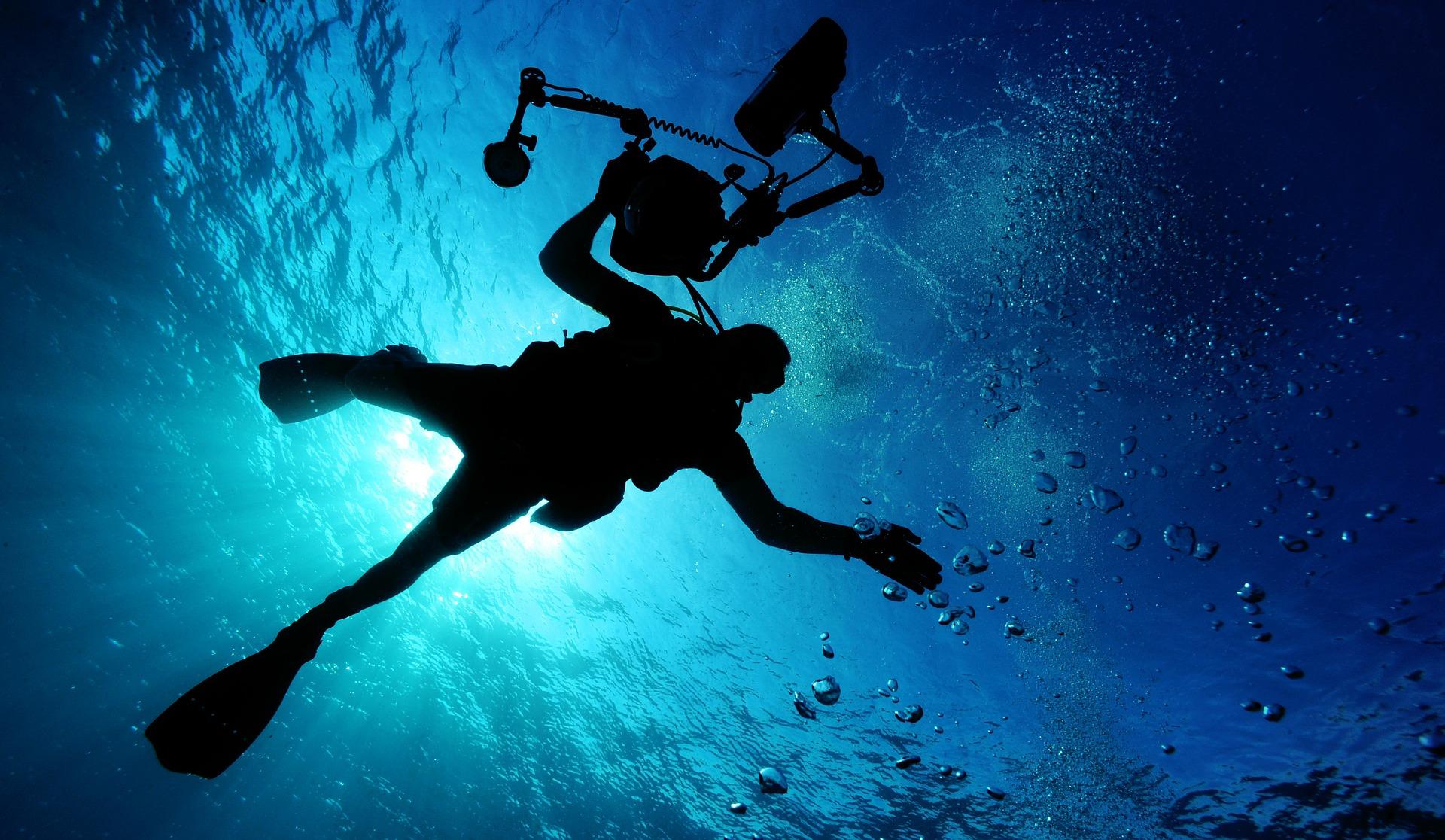 Relaxar e aproveitar as maravilhas do mar.