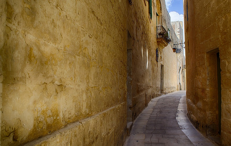 ruas mdina ilha da malta game of thrones